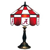 NCAA 14&quot; Executive Style Stained Glass Table Lamp
