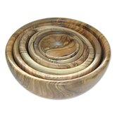 Olive Wood Bowls (Set of 6)