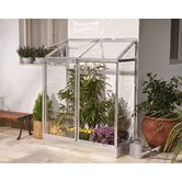 Lean To Silver Greenhouse