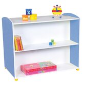 Elite Double Sided Straight Unit with 2 Shelves