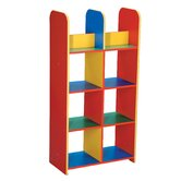Primary Coloured Modular Book Box Unit