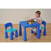 Children's Multipurpose Table & Chairs Set -