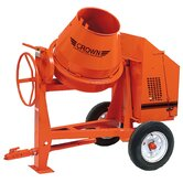 C9-CE 1.5 - 9 cu ft Concrete Mixer - 1.5 HP Electric w/ Optional Lighting Kit