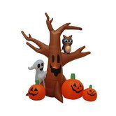 8' Halloween Inflatable Haunted Tree