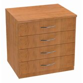 Repositionable Replay Four Standard Drawers File Storage Unit
