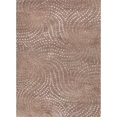 Coastal Living(R) Hand-Tufted Dark Taupe Abstract Rug
