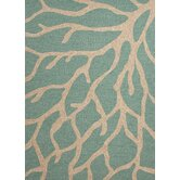 Coastal Living(R) I-O Frosty Green Coastal Rug