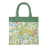 V and A Golden Lily Canvas Bag