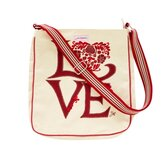 Jan Constantine Love Messenger Bag