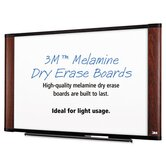 Melamine Dry Erase Board, 48 X 36