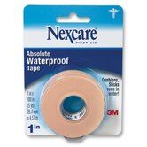 "First Aid Waterproof Tape w/Dispenser, 1""x180"", Flexible"