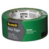 "1.88"" x 20 Yards Green Duct Tape"