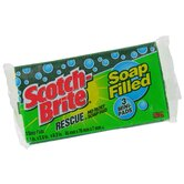 3 Mini Scotch-Brite Rescue No Rust Soap Pad