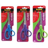 "7"" Assorted Straight Cut Scissor"