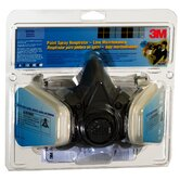 Large 3M&reg; Half Facepiece Paint Spray &amp; Pesticide Assembly 6311-PA1-A