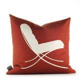 Modern Classics Pillow in Scarlet