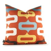 Aequorea Smile Pillow in Rust
