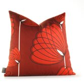Aequorea Lotus Pillow in Scarlet