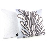 Seagrass Throw Pillow in Aqua