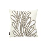 Seagrass Throw Pillow in Moss