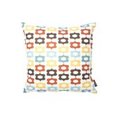 Aequorea Laugh Pillow in Cornflower