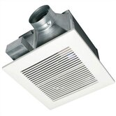 WhisperCeiling 50 CFM Ceiling Mounted Bathroom Fan - Energy Star Rated