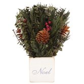 Urban Florals Holiday Accents & Decor