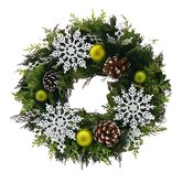 Frosty And Bright Wreath