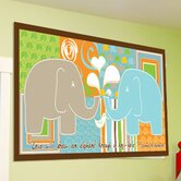 Elephant Boy Wall Mural