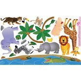 Peel and Play Jungle Wall Play Set