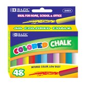 48 Ct. Assorted Color Chalk Box