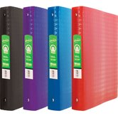 Diamond Poly 3-Ring Binder with Pocket (Set of 48)