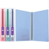 Glitter Poly 3-Ring Binder with Pocket (Set of 48)