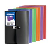 13-Pocket Letter Size Poly Expanding File (Set of 6)