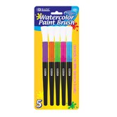 Jumbo Water Color Paint Brushes (Set of 5)