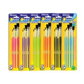 Paint Brushes (Set of 5)