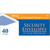 100 Ct. Security Envelopes (Set of 24)