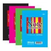 Colored Note Pads (Set of 48)