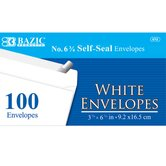 100 Ct. Self-Seal Envelopes (Set of 24)