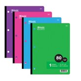 1-Subject Wireless Notebook (Set of 24)