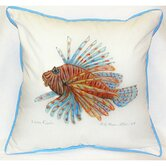 Coastal Lion Fish Indoor / Outdoor Pillow