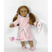 Nutcracker 4 Piece Doll Pajama Set