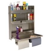 Double Cabinet 3 Shelf Can Organizer