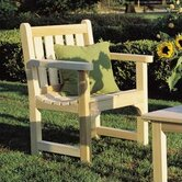 Rustic Natural Cedar Furniture Outdoor Chairs