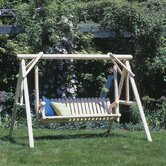 Classic Porch Swing with Stand