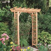 Rustic Natural Cedar Furniture Arbors and Trellise