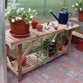 5' Greenhouse Cedar Potting Table
