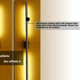 Stilletto Duo Wall Lamp