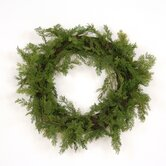 Artificial Cedar Wreath