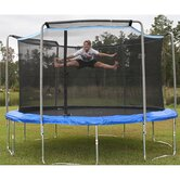 15' Round Trampoline and Enclosure Combination